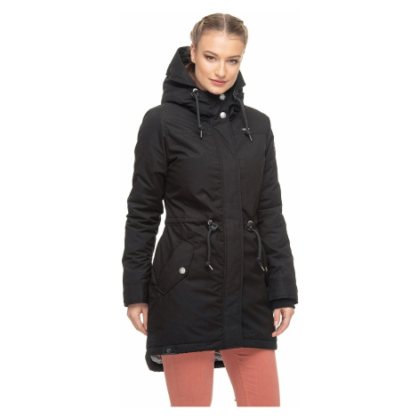 jacket Ragwear Elba Coat B - 1010/Black - women´s