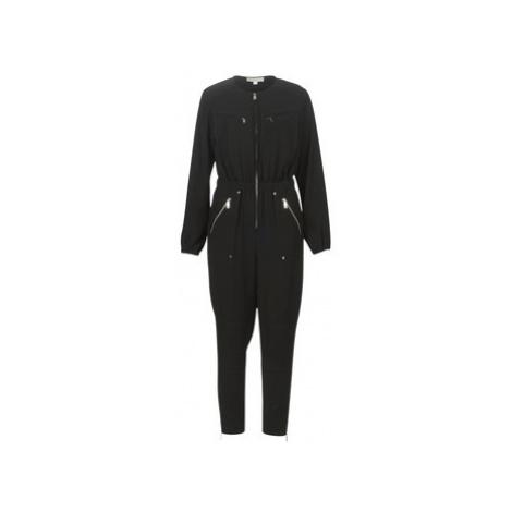 MICHAEL Michael Kors SPORTY ZIP JUMPSUIT women's Jumpsuit in Black