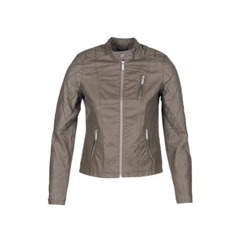 S.Oliver REZATO women's Leather jacket in Brown