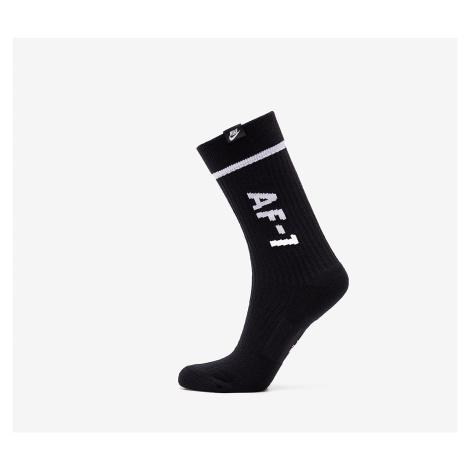 Nike Sportswear 2 Pack AF1 Sneaker Sox Crew Black/ White