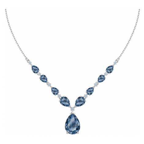 Swarovski Vintage Blue Crystal Necklace