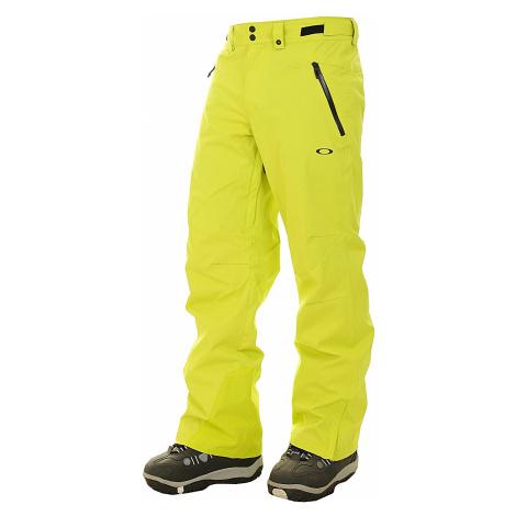 pants Oakley Crescent 2.0 Shell 2L 10K - Sulphur - men´s