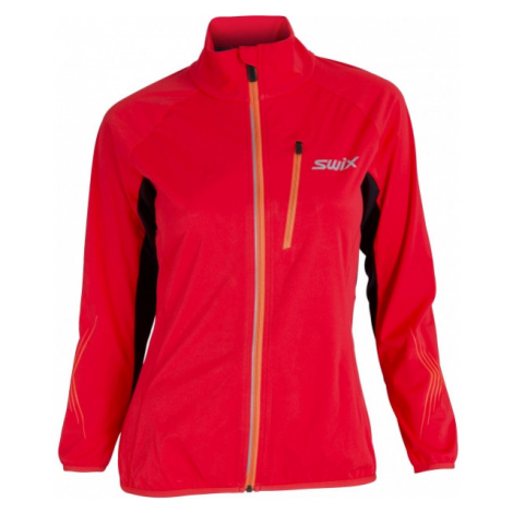 Swix DYNAMIC red - Lightweight women's softshell jacket