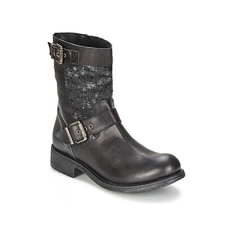 Meline LINA women's Mid Boots in Black