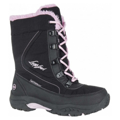 Loap ICE KID pink - Kids' Winter Boots