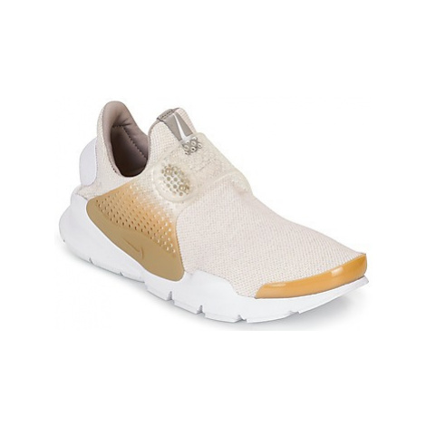 Nike SOCK DART SE men's Shoes (Trainers) in Beige