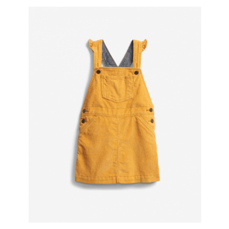GAP Kids Dress with straps Yellow