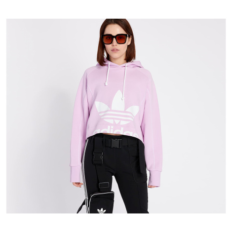 adidas Cropped Hoodie Clear Lilac