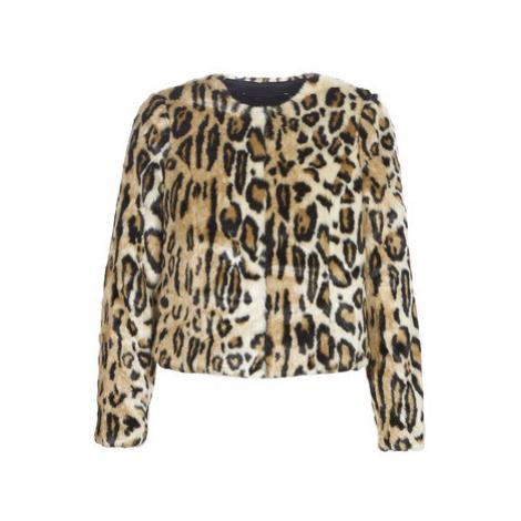 Beige women's spring/autumn jackets