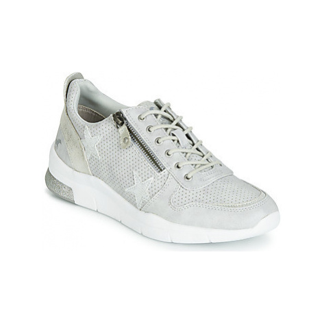 Mustang 1305303-4 women's Shoes (Trainers) in Silver