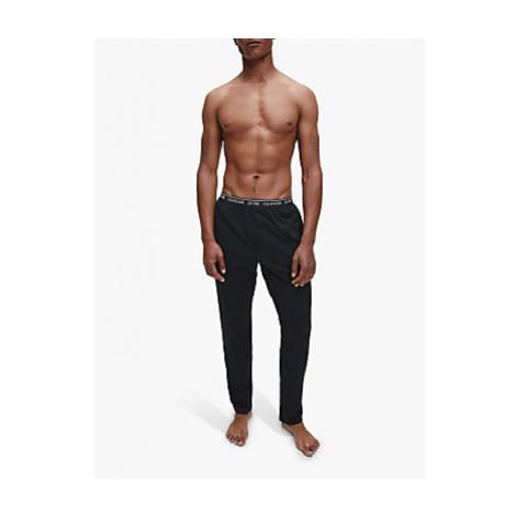 Calvin Klein Cotton Jersey Sleep Trousers, Black