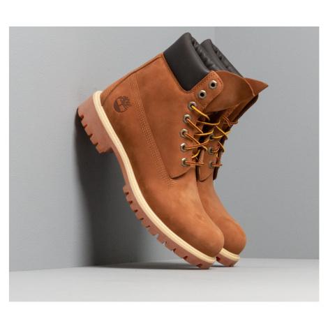 Timberland Waterproof 6-Inch Premium Boot Rust Orange