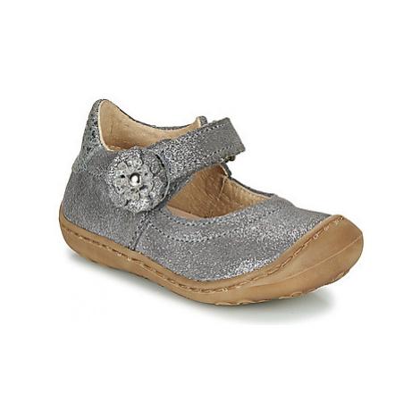 Citrouille et Compagnie LASKIMA girls's Children's Shoes (Pumps / Ballerinas) in Grey