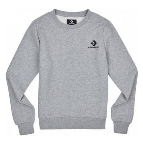 Converse STAR CHEVRON EMB CREW grey - Women's sweatshirt