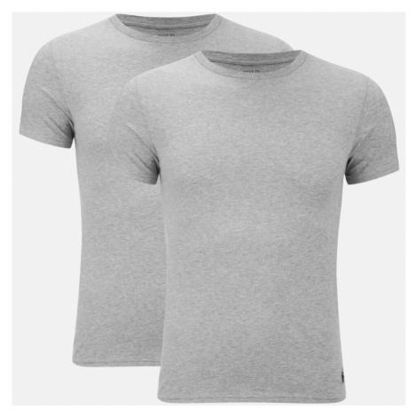 Polo Ralph Lauren Men's 2 Pack Short Sleeve T-Shirt - Andover Heather
