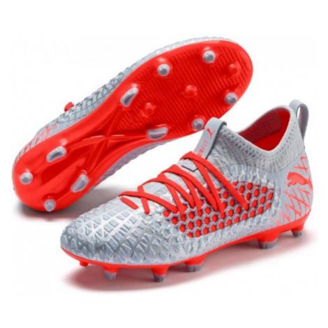 Puma FUTURE 4.3 NETFIT FG/AG JR black - Kids' football boots