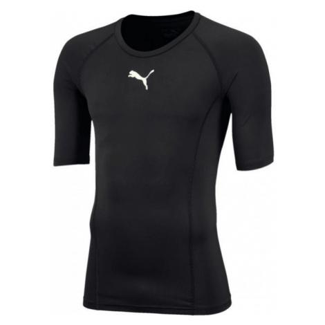 Puma LIGA BASELAYER TEE SS JR black - Boys' functional T-shirt