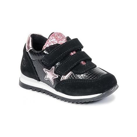 Citrouille et Compagnie HOPINETTE girls's Children's Shoes (Trainers) in Black