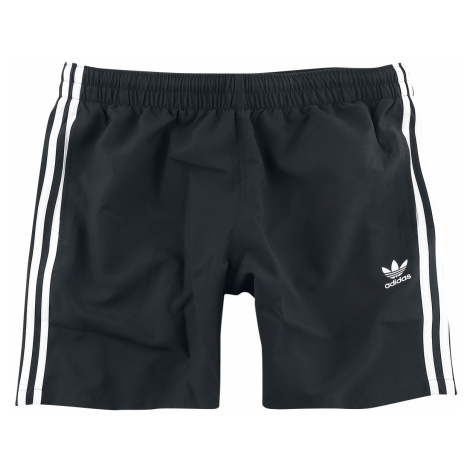 Adidas - 3 Stripe Swims - Swim trunks - black