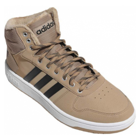 adidas HOOPS 2.0 MID beige - Men's lifestyle shoes
