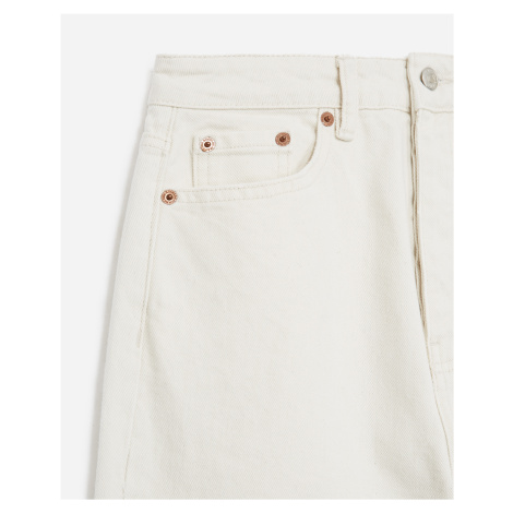 The Kooples - Buttoned plain white jeans - WOMEN