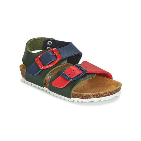 Green boys' sandals