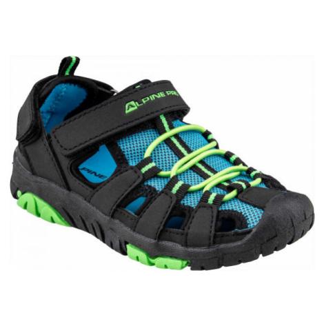 ALPINE PRO EAKY blue - Children's summer shoes