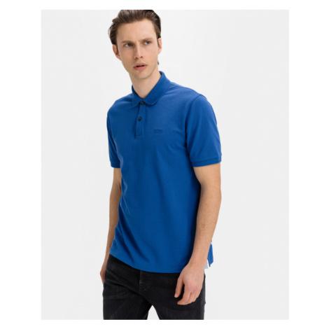 BOSS Pallas Polo Shirt Blue Hugo Boss