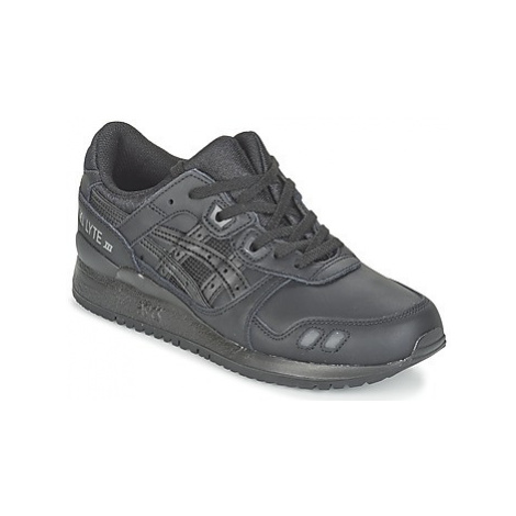 Asics GEL-LYTE III women's Shoes (Trainers) in Black