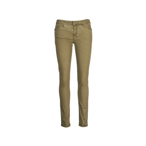 Acquaverde JOE women's Skinny Jeans in Brown