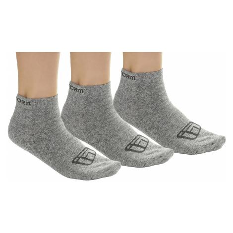 socks Funstorm Uson 3 Pack - Gray