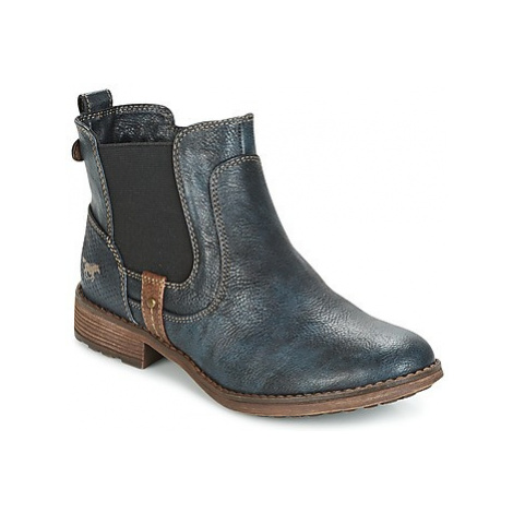 Mustang NANI women's Mid Boots in Blue