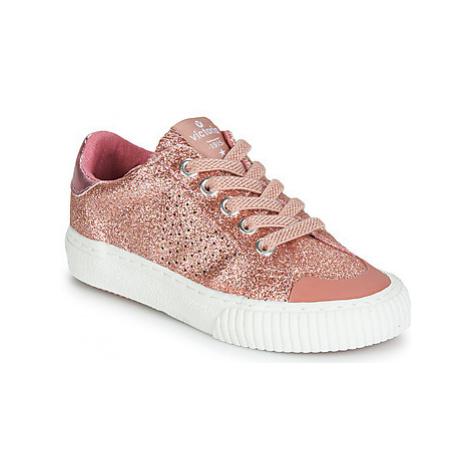 Victoria TRIBU GLITTER FINO girls's Children's Shoes (Trainers) in Pink