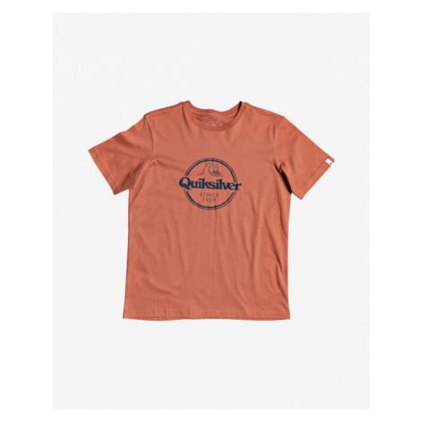 Quiksilver Words Remain Kids T-shirt Orange