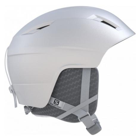 Salomon PEARL2 white - Women's ski helmet