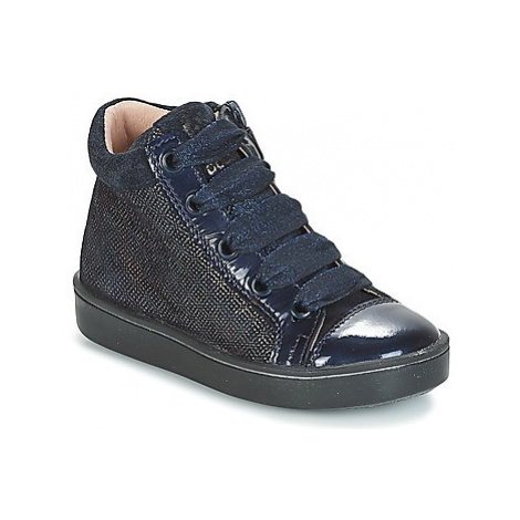 Acebo's NALU girls's Children's Shoes (High-top Trainers) in Blue