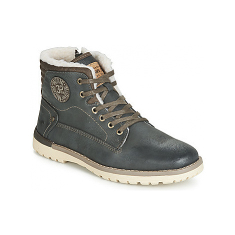 Mustang 4092602-259 men's Mid Boots in Grey