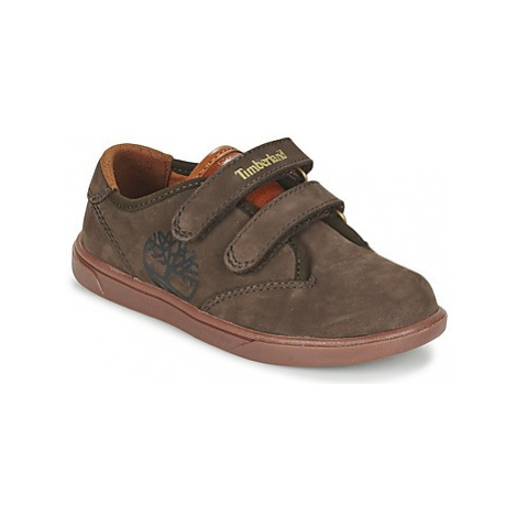Timberland GROVETON PLAIN TOE O girls's Children's Shoes (Trainers) in Brown