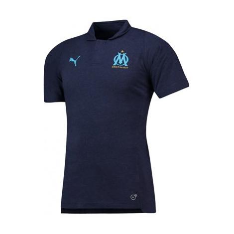 Olympique de Marseille Casuals Polo - Dark Blue Puma