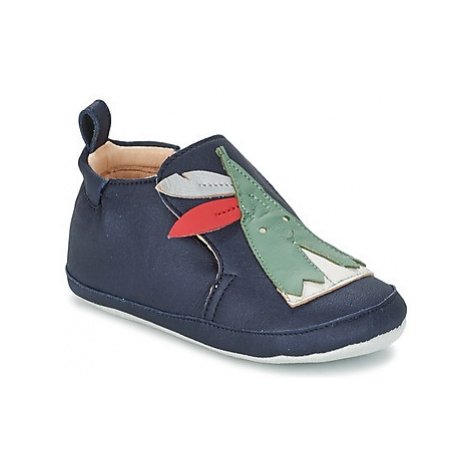 Shoo Pom CHOU TIPI boys's Baby Slippers in Blue