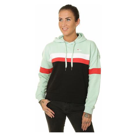 sweatshirt Fila Ella - Mist Green/Black/Bright White/True Red - women´s