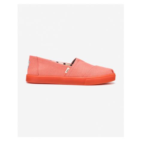 TOMS Slip On Pink Orange