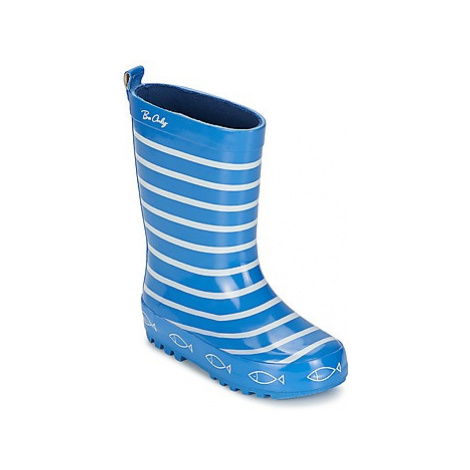 Be Only TIMOUSS girls's Children's Wellington Boots in Blue