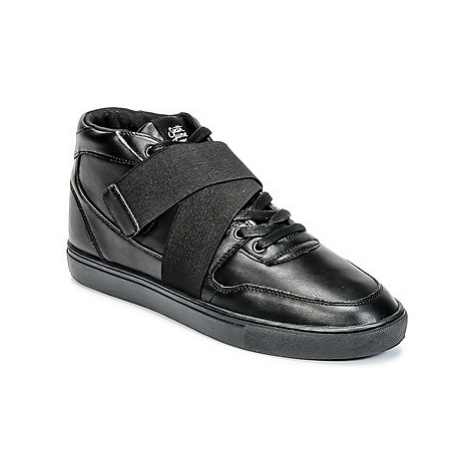 Sixth June NATION STRAP men's Shoes (High-top Trainers) in Black