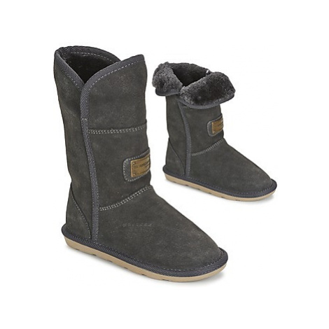 Les Tropéziennes par M Belarbi ARCTIQUE girls's Children's Mid Boots in Grey
