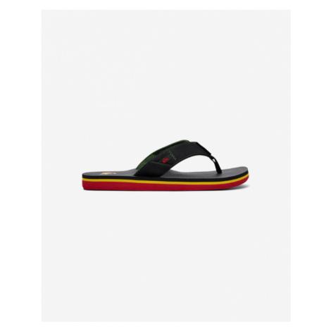 Quiksilver Molokai Flip flops Black Green Red