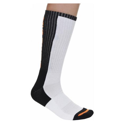 socks Santa Cruz SCS Block Strip - White/Black