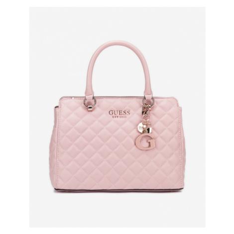 Guess Melise Luxury Handbag Beige