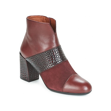 Hispanitas SAFRON women's Low Ankle Boots in Red