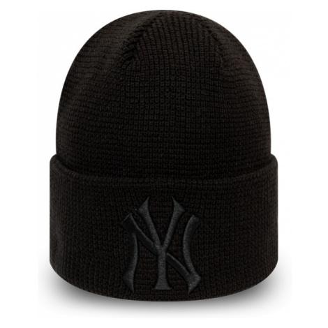 New Era MLB WMNS LEAGUE ESSENTIAL CUFF KNIT NEW YORK YANKEES black - Women's club winter beanie